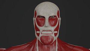 3D Colossal Titan model