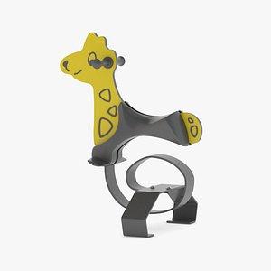 3D Lappset Giraffe model