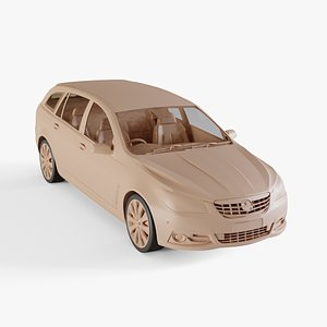 3D 2013 Holden VF Calais V sportwagon model