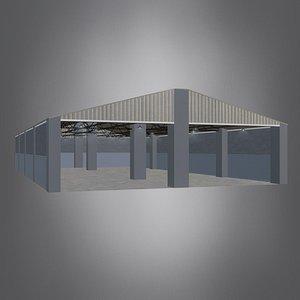 Stable Barn - Stable - Establo 3D model