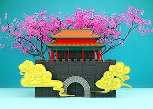 3D Pagoda