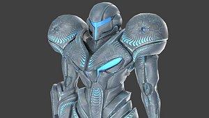 DARK SAMUS - PBR - RIGGED 3D