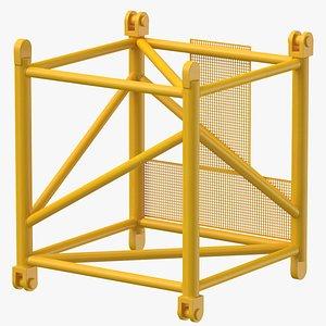 crane s intermediate section 3D model