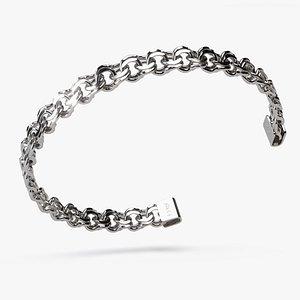 Chain Bracelet BR008 3D model