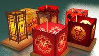 Chinese water lantern