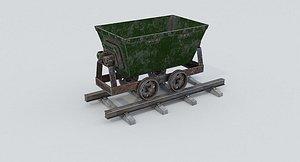 Mine Wagon 2 model