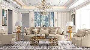 room classic living 3D