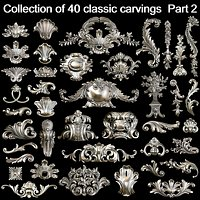Collection of 40 classic carvings Part 2