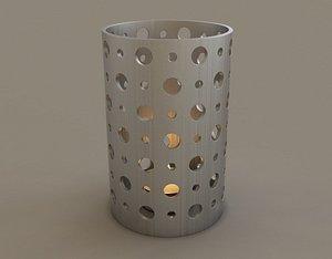 3D PRINT---CANDLEHOLDER 016 model