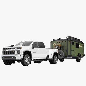 3D Chevrolet Silverado 3500 HD 2021 18