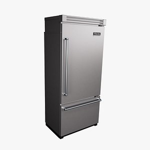 3D model refrigerator viking