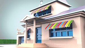 OGGY HOUSE 3D model