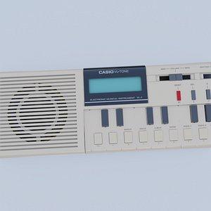 Casio Tone VL-1 3D model