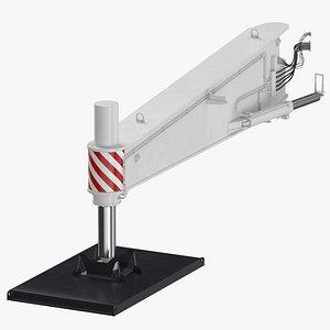 crane outrigger large 03 3D model