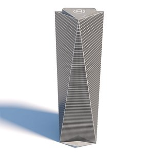 3D Northeast Asia Trade Tower