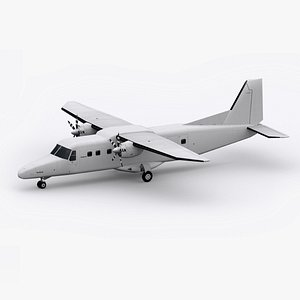 3D model Low-Poly Dornier 228
