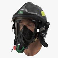 Firefighter Head Cairns XF1 Fire Helmet