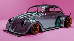 beetles bosozoku 3D model