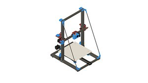3D model creality cr-10s printer