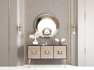Modern Style Console - 013 3D