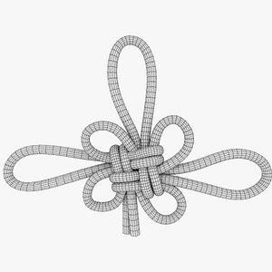 3D model knot