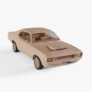 1972 Dodge Demon 340 3D model