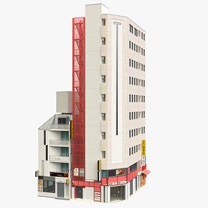 3D model Tokyo Japanese Modern Building