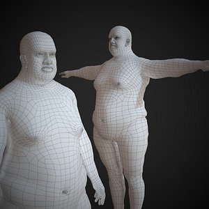 3D base mesh basemesh model