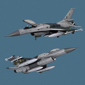 3D model F-16 Block 50 PAF