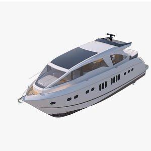 3D model yacht Concept