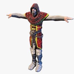 war warrior crusader 3D