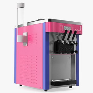 3D model Commercial Ice Cream Maker