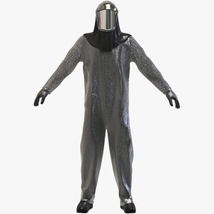 Jumpsuit Protection Equipment 3D