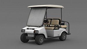Clubcar White model