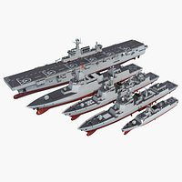 Chinese  Navy warships Collection 01
