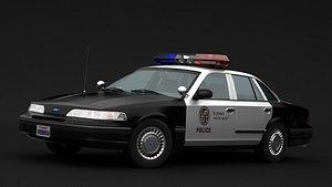3D crown police 1992