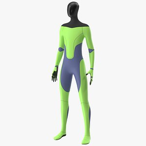 3D Robotic Humanoid Neutral Pose