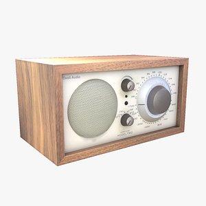 3D Tivoli radio - Henry Kloss Model Two