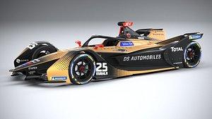 3D model Formula E DS 2021