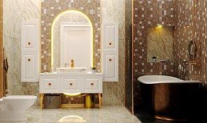 Bathroom Luxury Design 3D