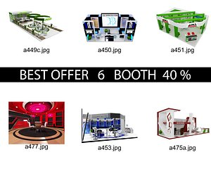 3D Booth Exhibition Stand c7