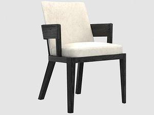 robinson armchair liaigre remaster 3D