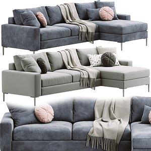 sofa nova 3D model