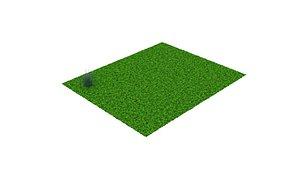 grass flower 3D