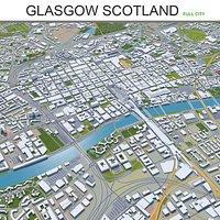 Glasgow City in Scotland
