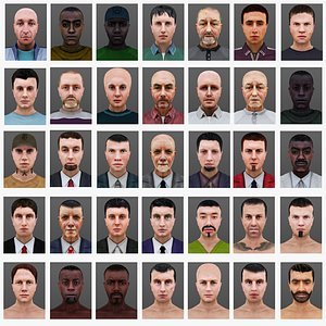 MAN 36 TO 70 3D model