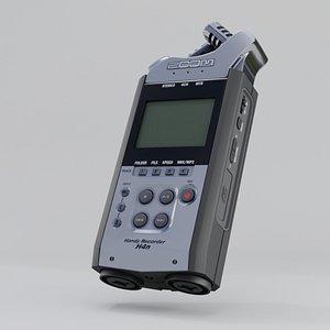 microphone zoom h4n 3D