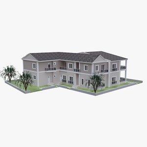 3D House Model B