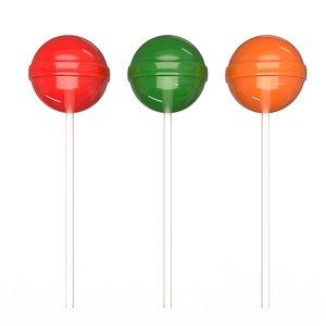 Chupa Chups Lollipop 3D