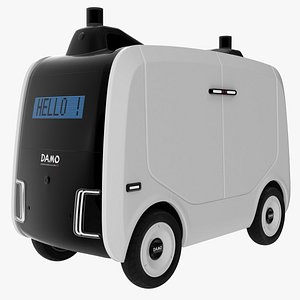 3D Autonomous logistics robot Xiaomanlv